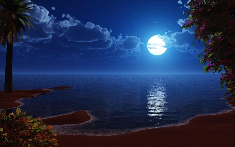 Under the Full Strawberry Moon 2 June 2015
