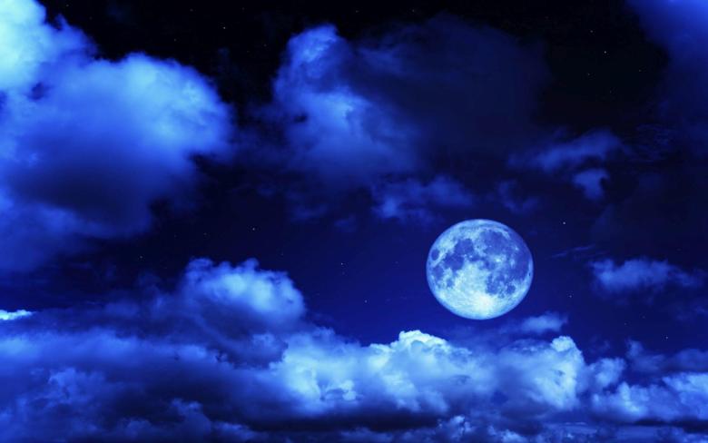 Blue Moon Wallpapers 46 Blue Moon High Resolution Wallpaper s
