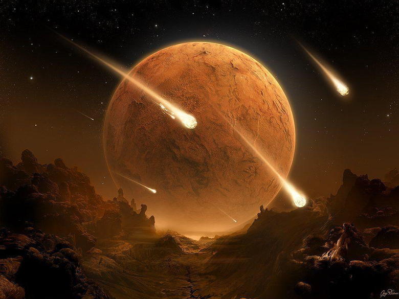space planets wallpapers img2 1024x768 Space art Universe space