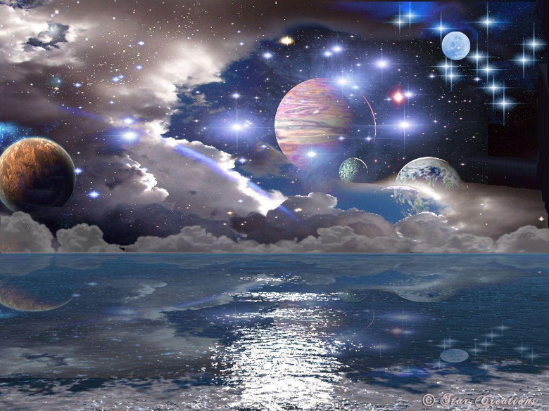 space planets wallpapers img18 1024x768 Space art Universe