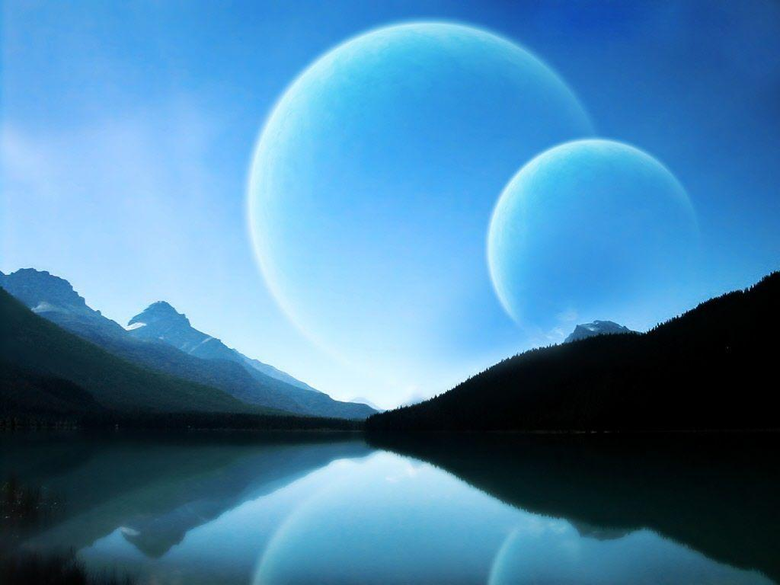 space planets wallpapers img27 1024x768 Space art Universe