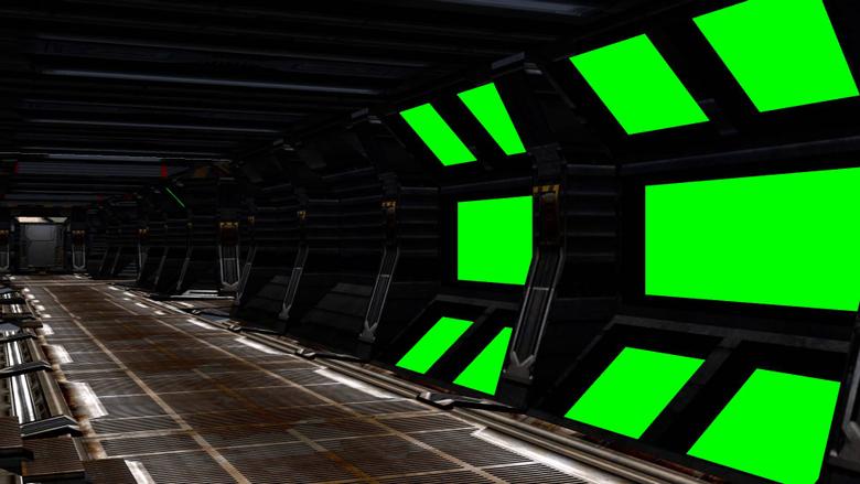 Spaceship Interior with sound