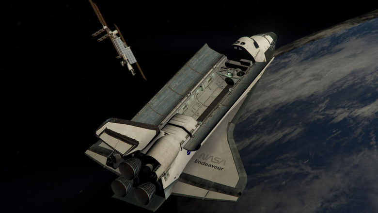 Space Shuttle NASA Add