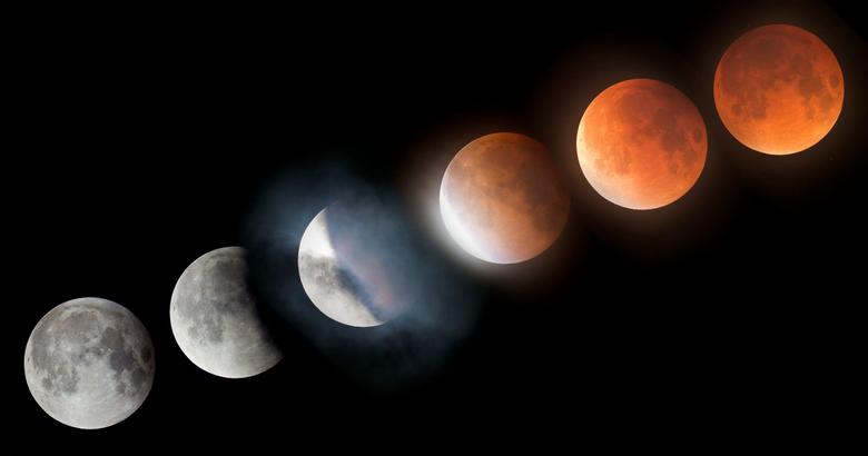 Super Blood Moon Lunar Eclipse Time