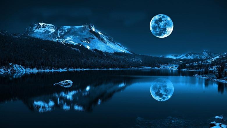 Most Beautiful Full Moon