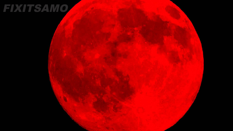 SEE THE REAL BLOOD MOON