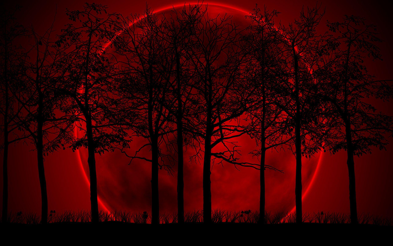Blood Red Moon Wallpapers