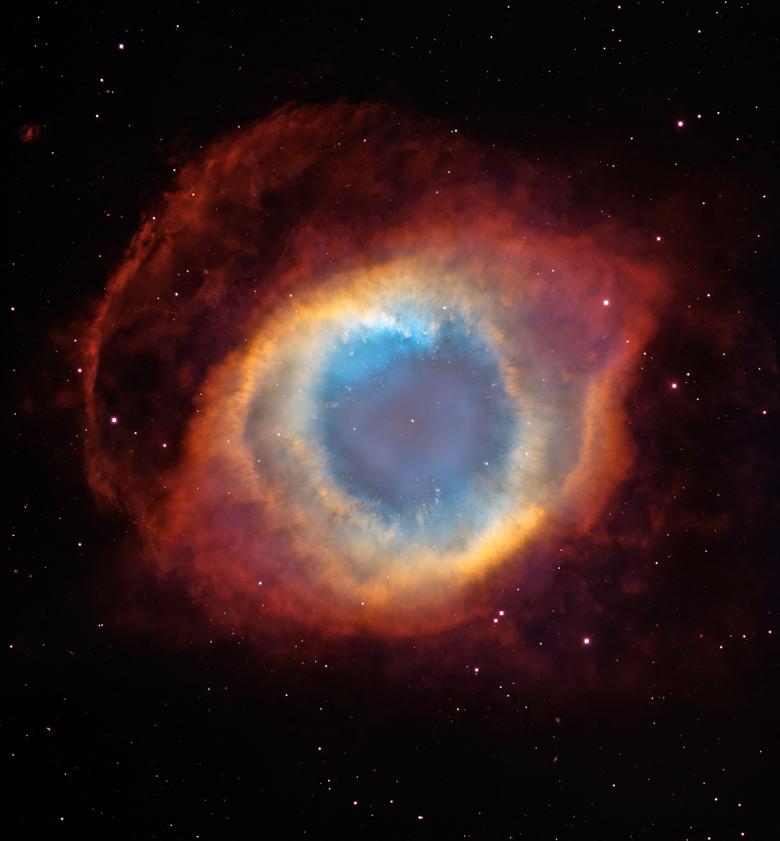 Wallpapers Helix Nebula Milky way Hubble Space Telescope HD 5K