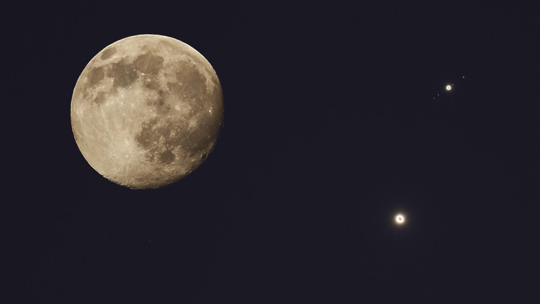 venus jupiter space moon wallpapers and backgrounds
