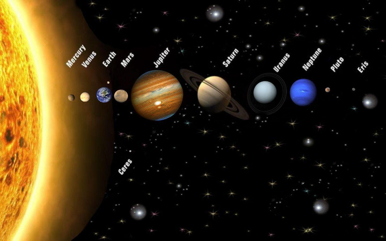 Animated Solar System Wallpapers
