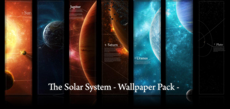 Wallpapers Pack Solar System by licoti