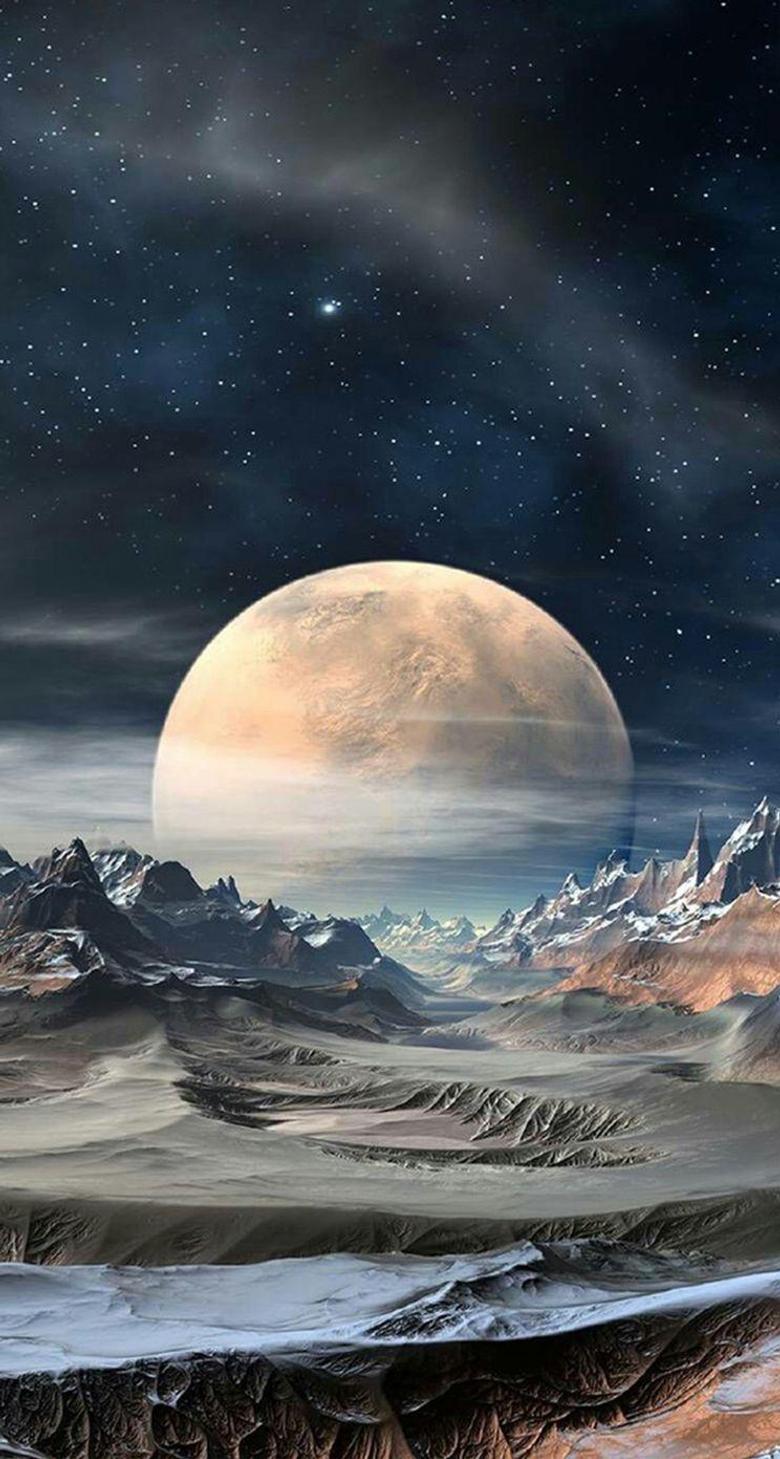 super moon iPhone se Wallpapers