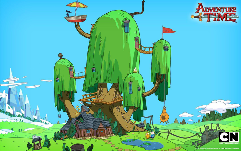 Treehouse wallpapers