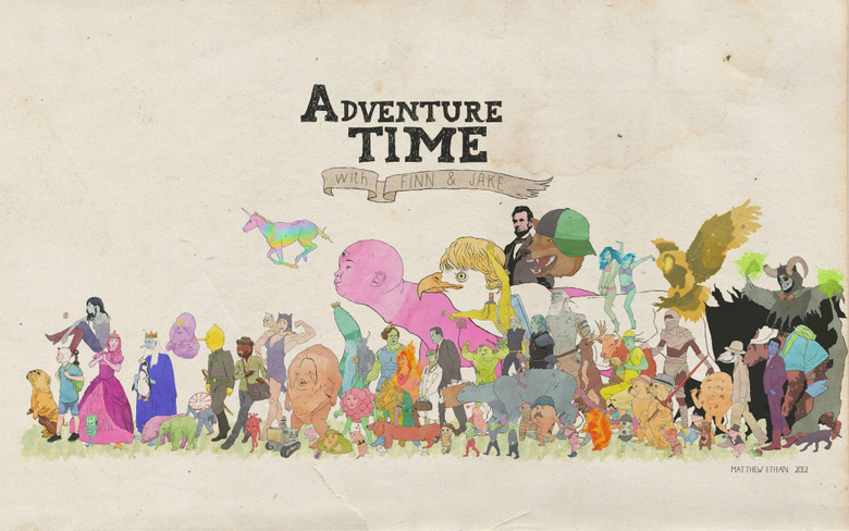 Most ed Adventure Time Wallpapers