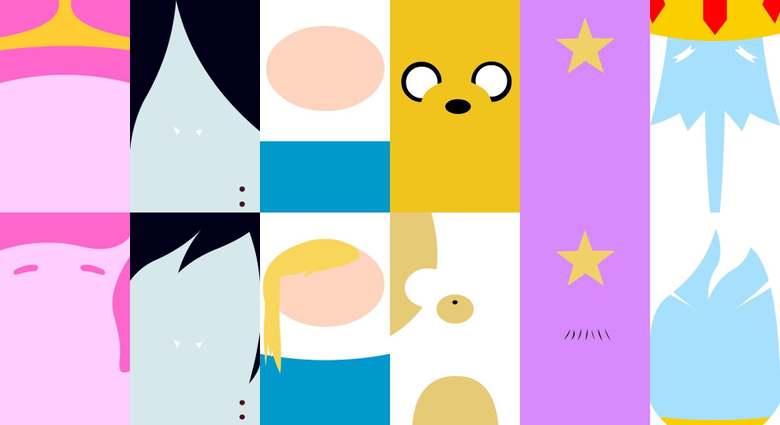 Funny Main Characters Adventure Time Wallpapers Qhyperdunk