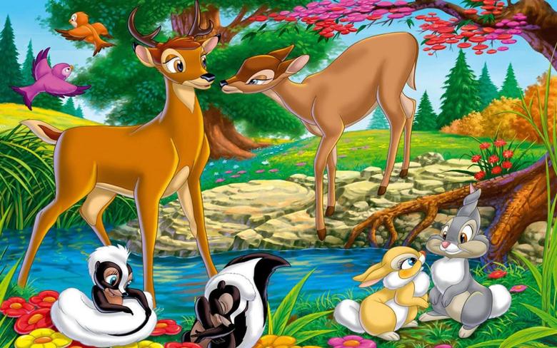 Cartoon Network Walt Disney Pictures Bambi HD Wallpapers