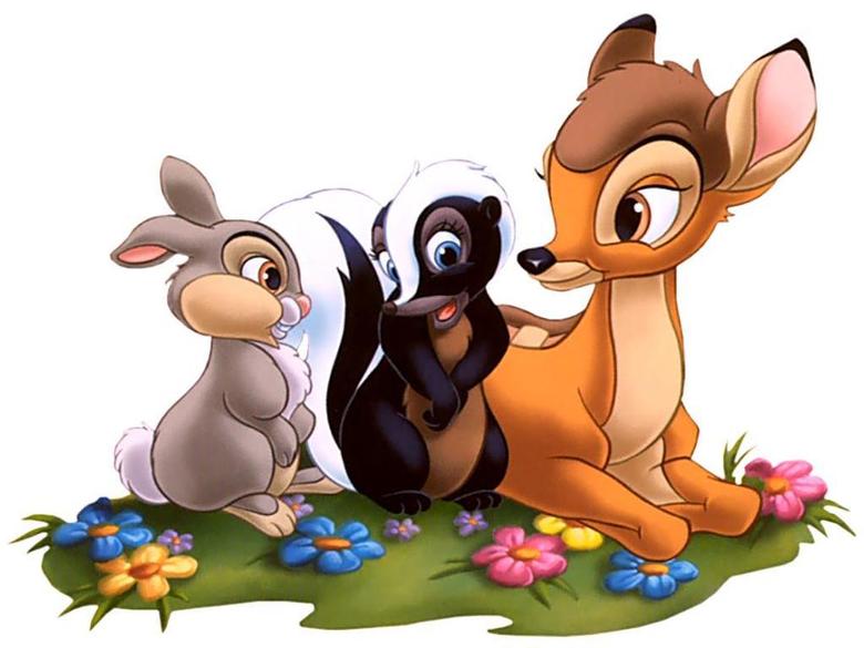 Photo Bambi Disney Cartoons