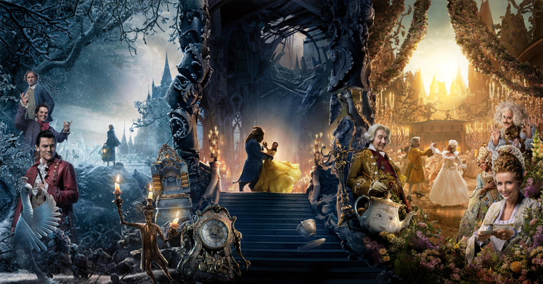 Wallpapers Beauty and the Beast 4K Movies