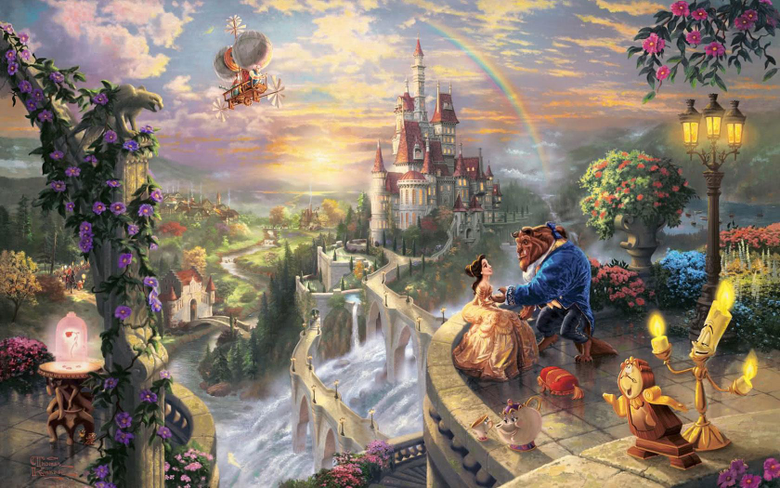Desktop Wallpapers Beauty and the Beast