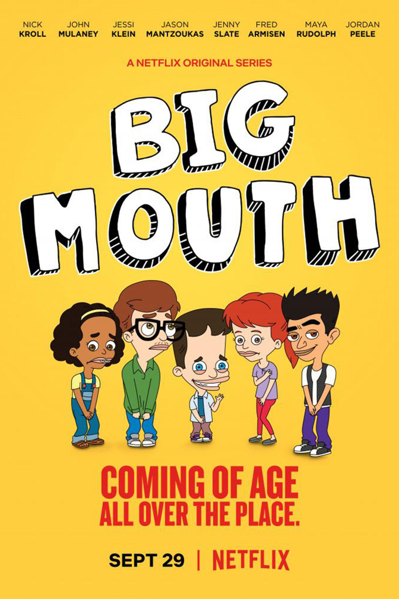 Big Mouth Nick Kroll Netflix animated series debuts teasers
