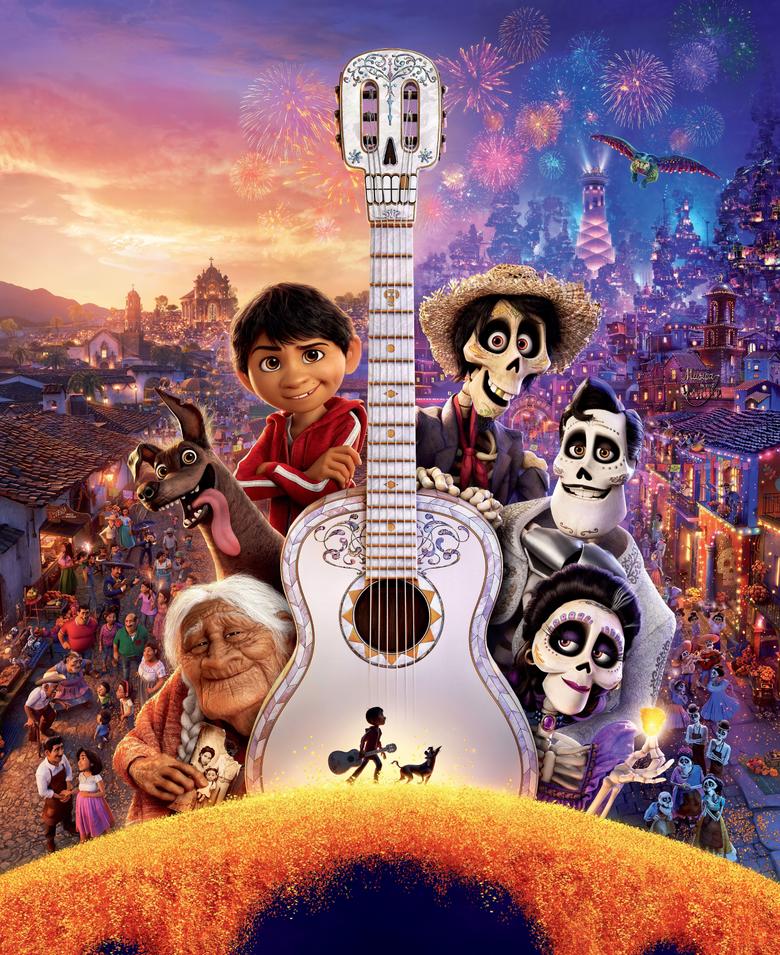 Wallpapers Coco Pixar Animation 4K 8K Movies