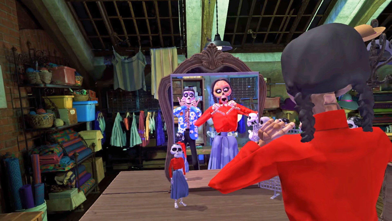 Pixar s Coco VR lets you explore the land of the dead