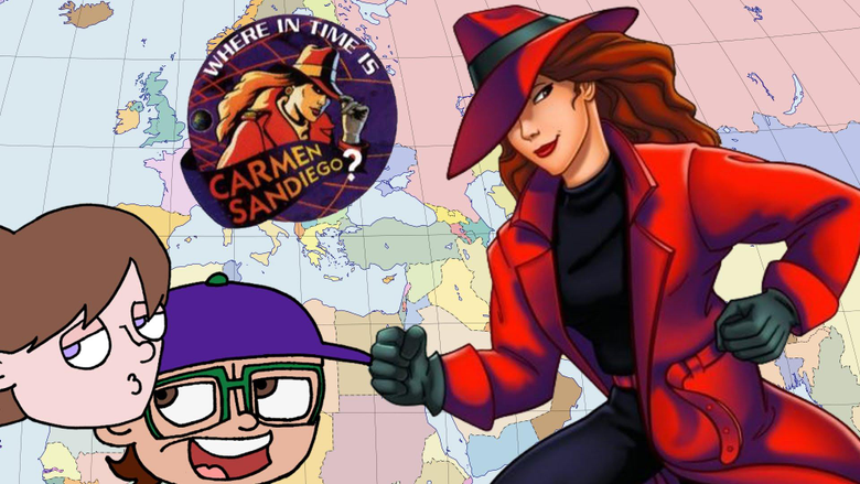 Where in Time is Carmen Sandiego Wallpapers