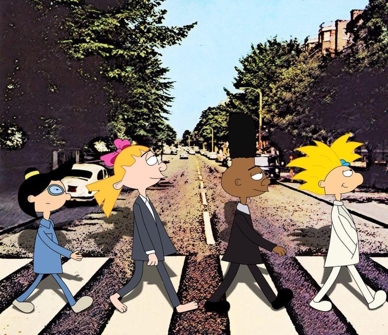 Mini post fan arts de Hey Arnold