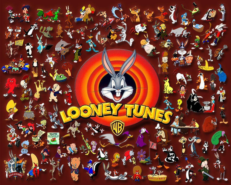 Looney Tunes Collage