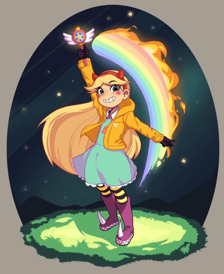 Star vs the Forces of Evil by eoqudtkdl