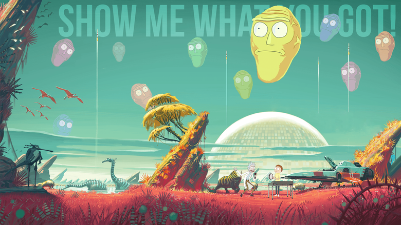 Rick and Morty Wallpapers Dump