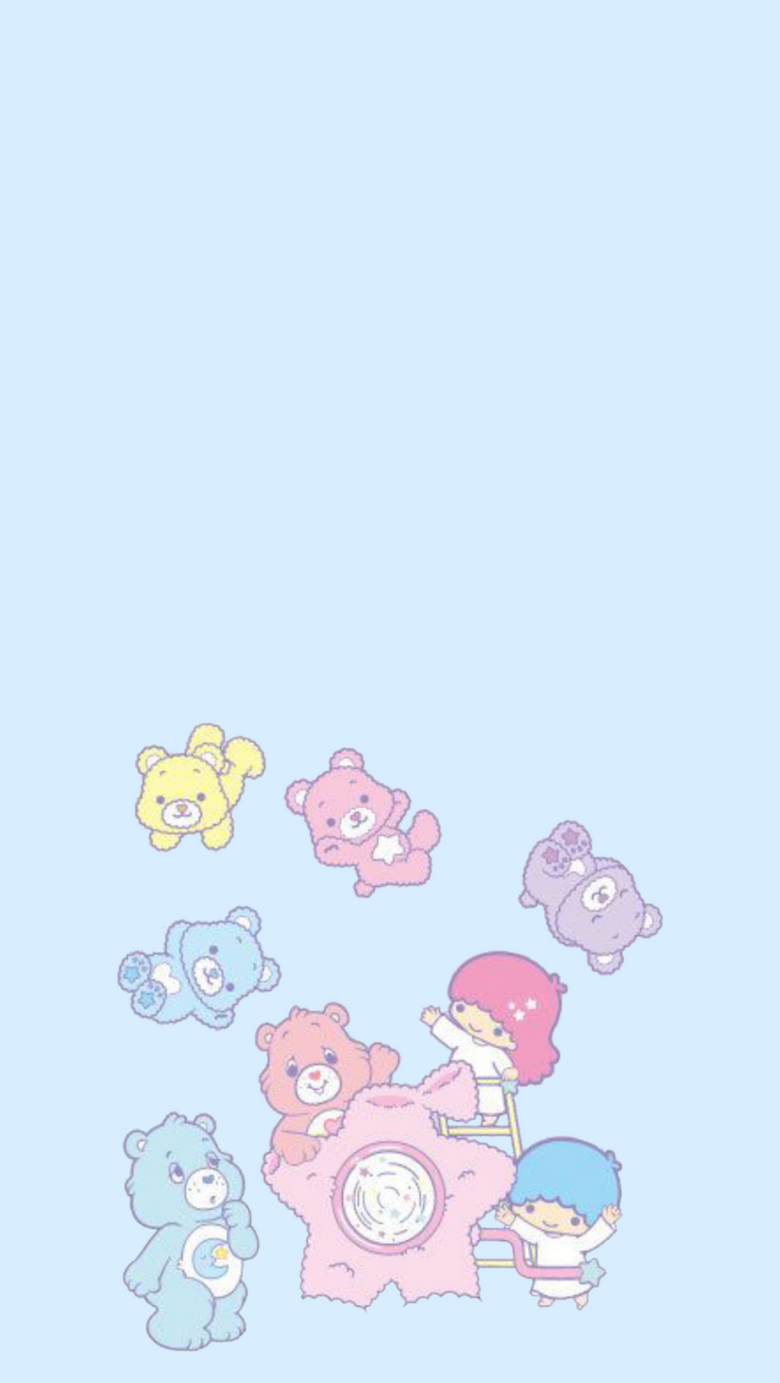 Little Twin Stars x Care Bears pinterest es