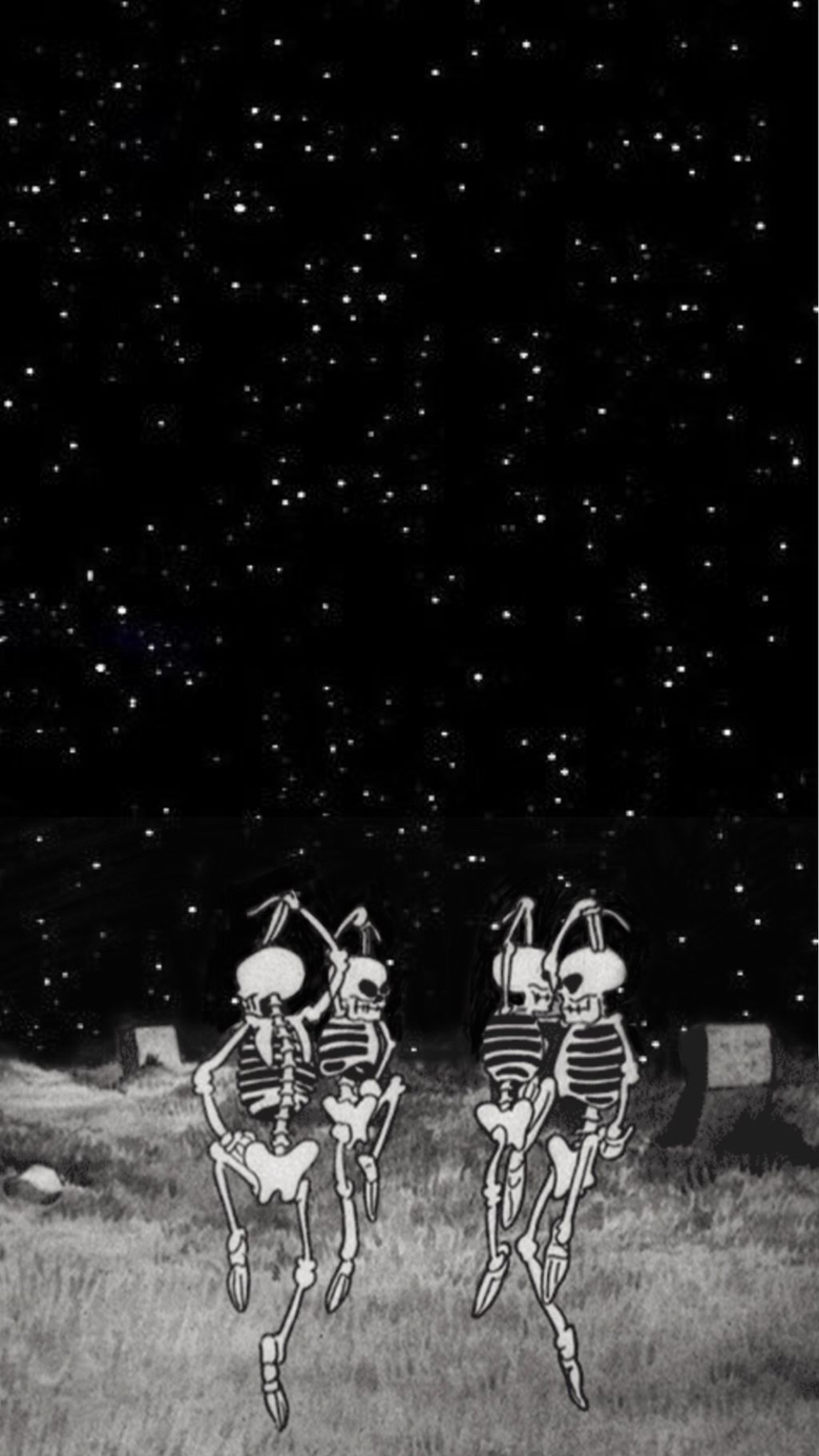 Spooky Skeleton Wallpapers posted by Samantha Peltier