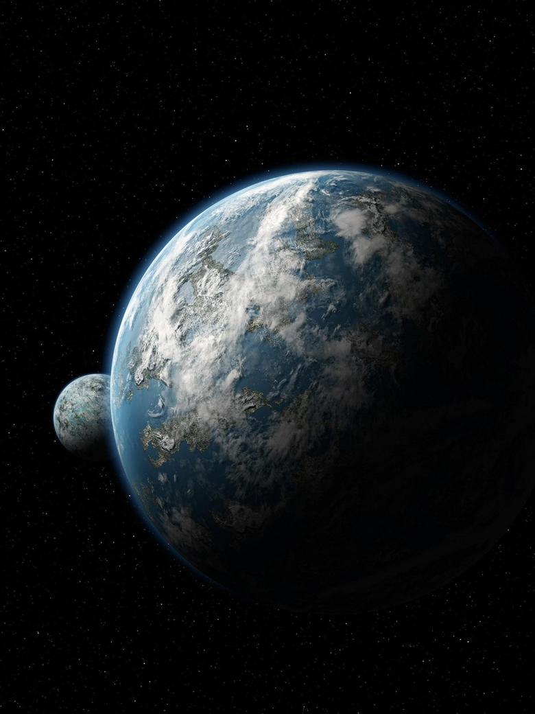 Scientific Space Planet Galaxy Stars Mac Wallpapers