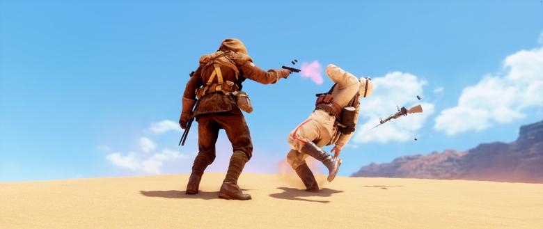Wallpapers Battlefield 1 Gameplay Desert HD 5K Games