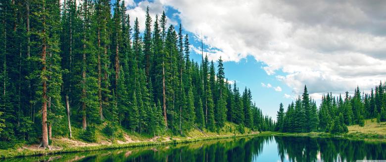 Irene Lake Colorado 4K HD Desktop Wallpapers for 4K Ultra HD TV