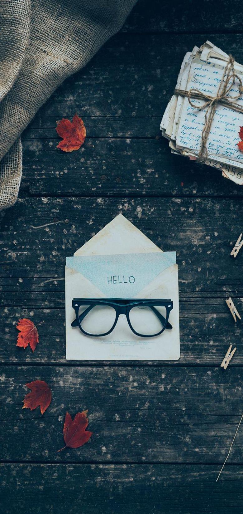 Envelope Letters Glasses Wallpapers