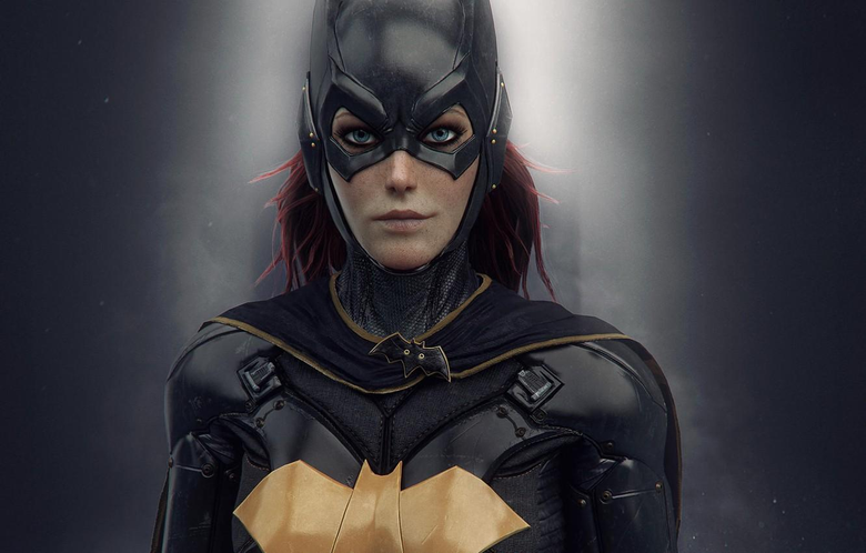Wallpapers girl mask costume girl armor suit DC Comics batgirl