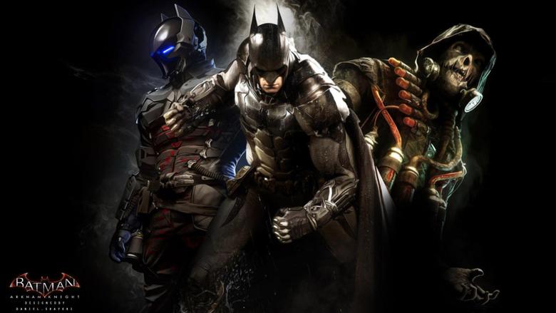 Batgirl is Barbara Gordon in Batman Arkham Knight