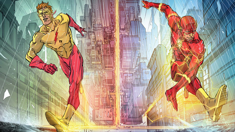 Relationship Roundup Barry Allen and Wally West
