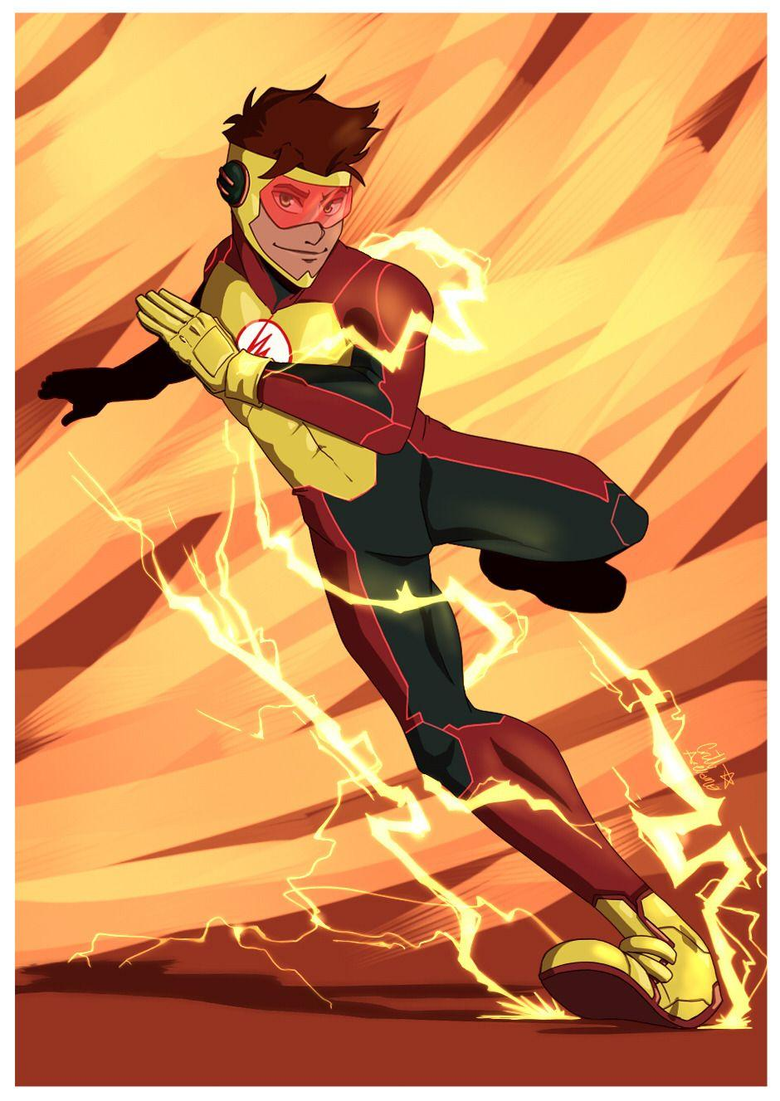 taledemon OH I love so much the Bart Allen s new design for the