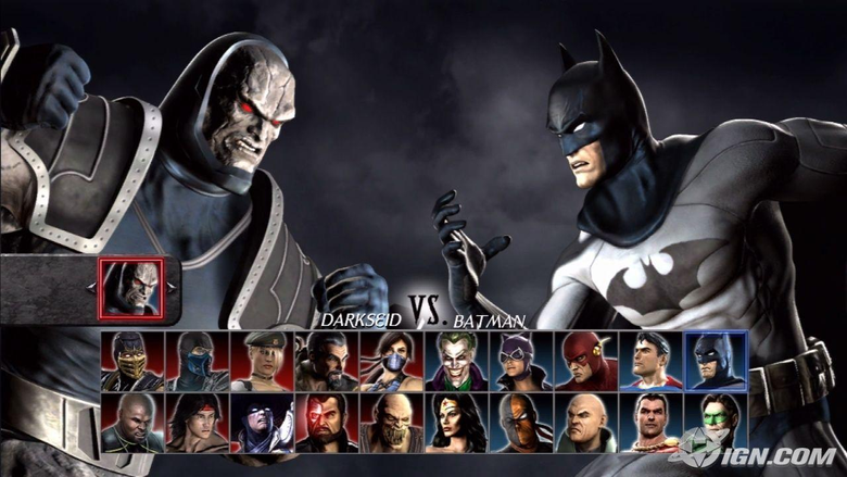 VS Batman Mortal Kombat Wallpapers
