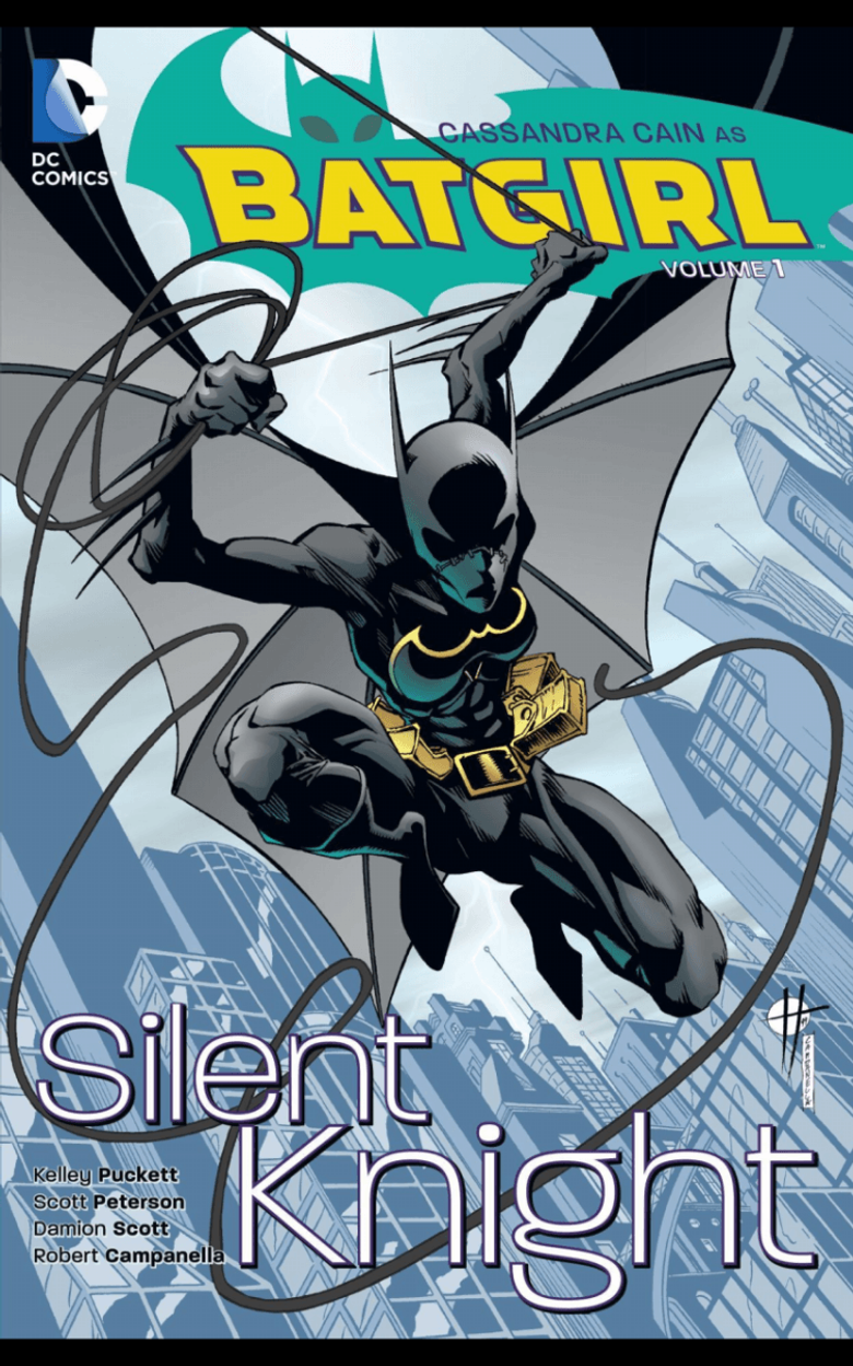 BATGIRL SILENT KNIGHT REVIEW Ghouls Gryphons and Gadgets
