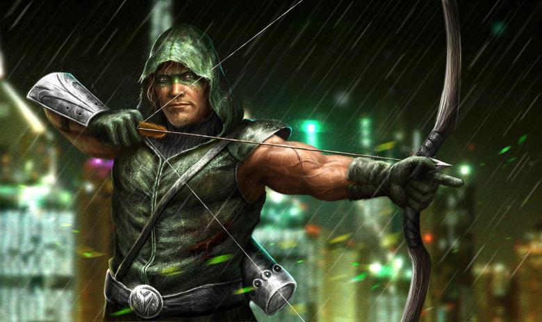 Want a good wallpapers of Green Arrow arrow