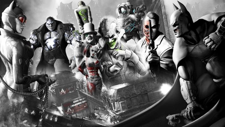 Harley Quinn Joker Harvey Dent Batman Arkham City Batman