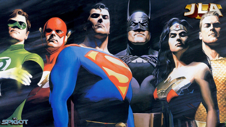 Wallpapers For Justice League Wallpapers Hd Alex Ross