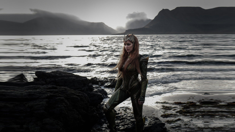 Wallpapers Justice League amber heard queen mera Movies