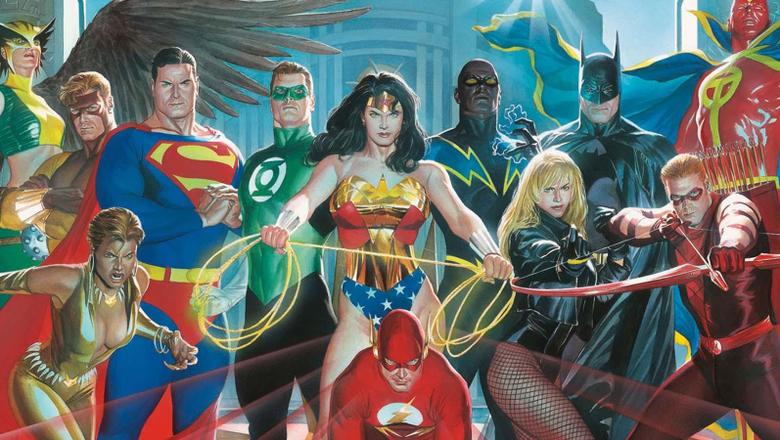 Alex Ross Woman Lantern Tornado Comics