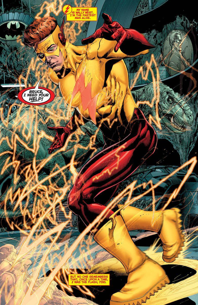Wally West screenshots image and pictures