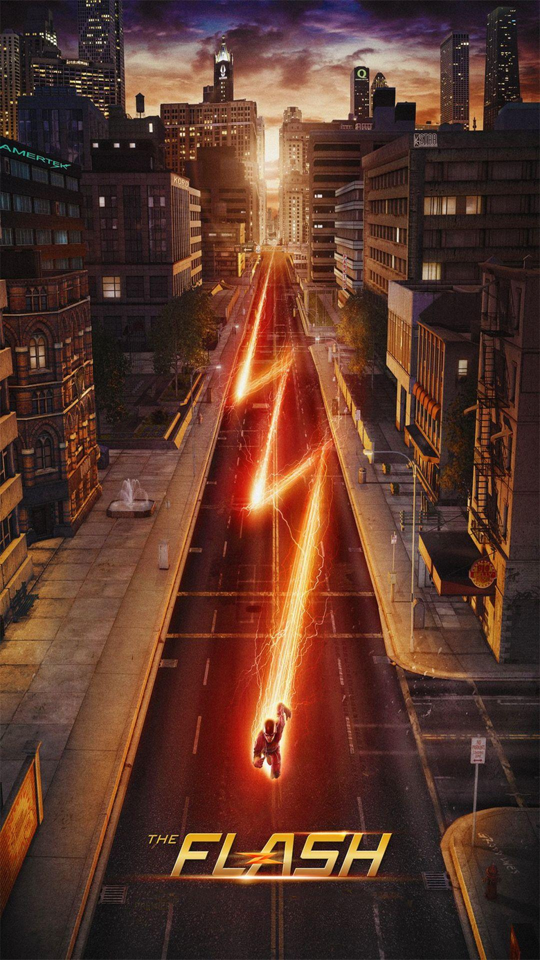 Wallpapers Weekends The Flash for Your iPhone 6 Plus